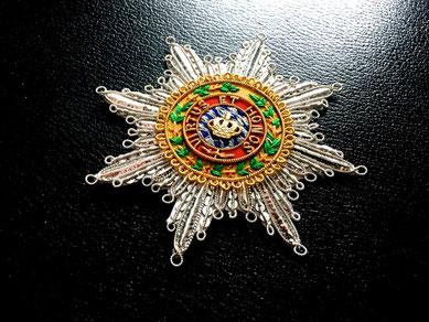 Bayern Militär-Max-Josephs-Orden Großkreuz gestickter Bruststern