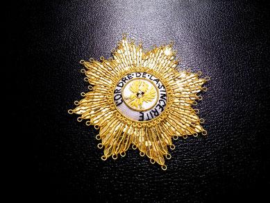 Brandenburg-Bayreuth Ordre de la Sincérité gestickter Bruststern