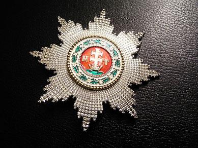 Österreich-Ungarn K.u. St.-Stephans-Orden Großkreuz Bruststern Replik