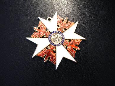 Preußen Roter Adlerorden Großkreuz Bruststern Schwerter Replik