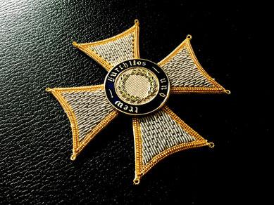 Württemberg Militärverdienstorden Großkreuz gestickter Bruststern Replik