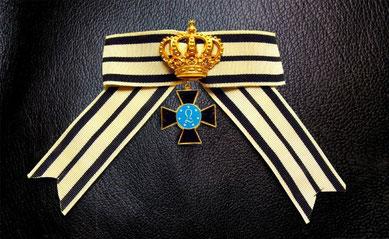 Preußen Louisen-Orden I. Klasse Krone Damendekoration Damenschleife Replik