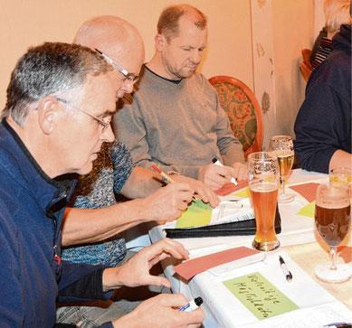 Die Teilnehmer der Bürgerwerkstatt entwickelten Ziele und Projektide