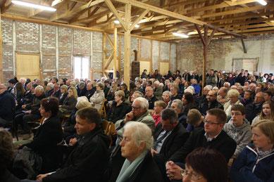 Evento conmemorativo con ocasión de 70 aniversario de la liberación. Foto: Lewke-Björn Rudnick, el 29 de abril 2015
