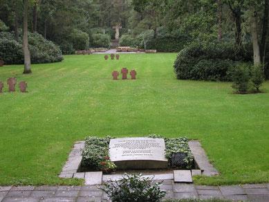 Blick auf das Gräberfeld II // Foto: A. Ehresmann, 23.9.2004
