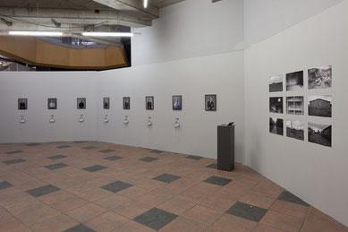 Präsentation der Fotos und Interviews im Rahmen der Abschlussausstellung #achtens der Ostkreuzschule für Fotografie im SEZ Berlin. Foto: C. C. Schmidt, 24.10.2014
