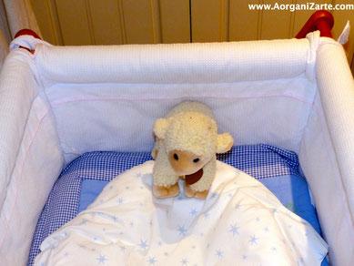 Acostúmbrate a guardar las cosas del bebé en su sitio - www.AorganiZarte.com