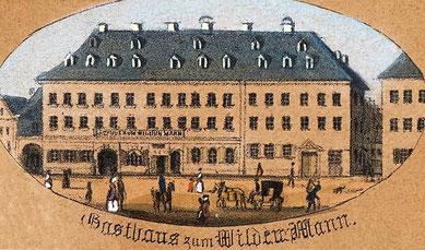 Zum Wilden Mann 1850