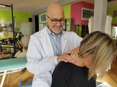 MASSOFISIOTERAPIA - Osteopata e fisioterapista Dr. Antonio Santi - Santa Maria a Monte (PI)   presso la palestra Olympia   Toscana - rieducazione funzionale