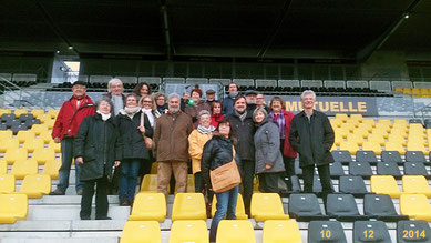 Visite du stade rochelais 10-12-14