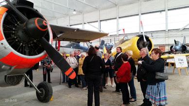 Visite du Musée de l'aéronavale à Rochefort le 29-09-2015
