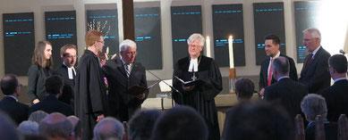 Hansjörg Kopp wird in sein Amt eingeführt