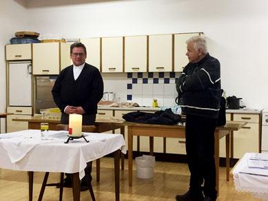 Kaplan P. Hans-Ulrich Möring und Dr. Max Angermann