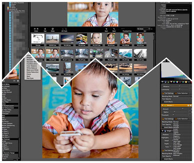 Lightzone has a browser to cull your pictures with a powerful editor