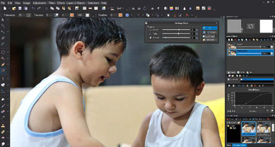 Photo Pos Pro is a free photo editor