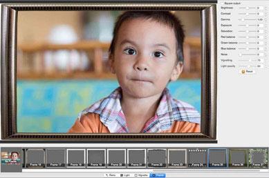 XnRetro has around 30 different frames