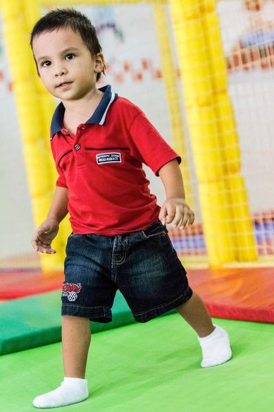 Photograph of my son at ISO 25600