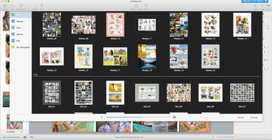 CollageIt free photos collage software to download on a computer