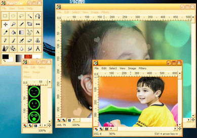 Paintstar a Windows alternative to Photoshop