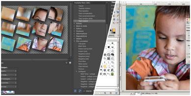 GIMP and G'MIC photo editor