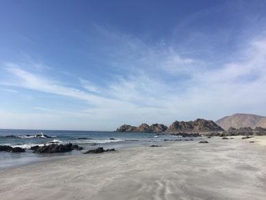 Playa Blanca im Parque Nacional Pan de Azúcar