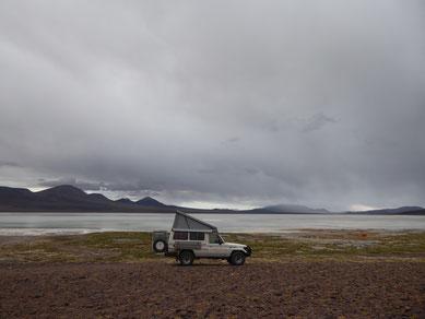 Der schönste aller Campingplätze: Laguna Brava in den argentinischen Anden