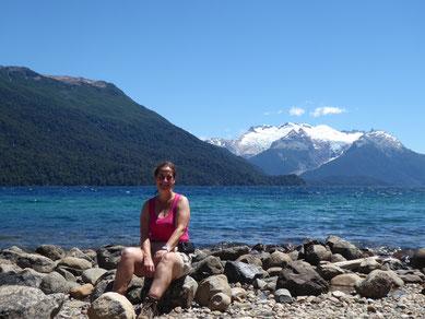 Blick vom Lago Mendenez auf den Gletscher Torrecillas