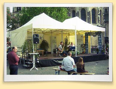 Bühnen günstig mieten in Bonn/Köln/Bornheim
