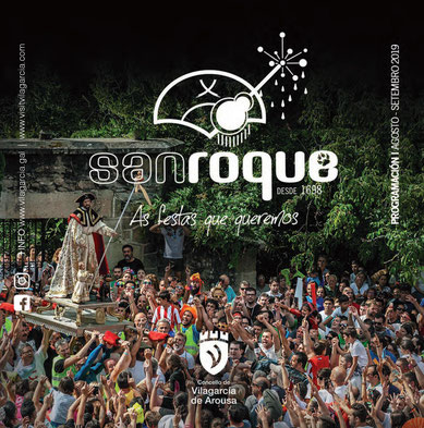 Fiestas en Vilagarcia de Arousa San Roque