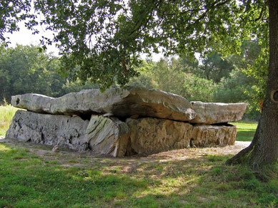© Traudi - Dolmen de la Bajouliere, Rückseite