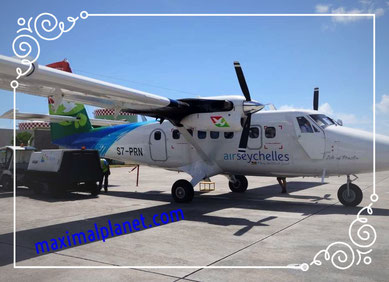 Flug Anreise Seychellen Kleinflugzeug Langstreckenflug