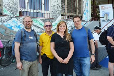 P. Dr. Franz Helm SVD, Dr. Franz Vock, Mag.a Eva Kern, Daniel Vychytil