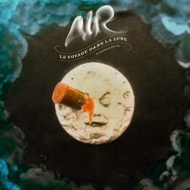 Image de couverture de l'album de AIR pour la musique du film Voyage dans la lune, sorti en 2012.