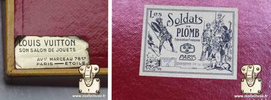 Les Soldats de plomb vendu chez Louis Vuitton CBG mignot