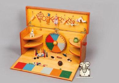 Loterie Louis Vuitton jouet en bois pour enfant 1940