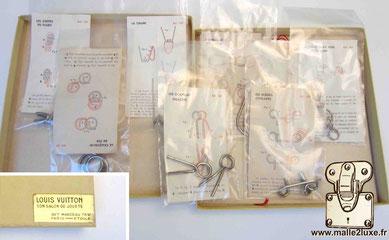 Casse tete Louis Vuitton 1960 metal japonais