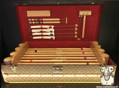 Malle croquet Louis Vuitton - Collection legendary trunk