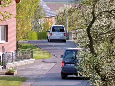 Meist sind es zwei bis drei Fahrzeuge die hintereinander durch das Alpenländle brausen.....