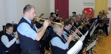 Der Musikzug Süpplingenburg bereicherte dieses Treffen mit einer tollen musikalischen Umrahmung.