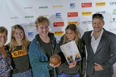 Die Preisträger des Sonderpreises Dokumentarfilm