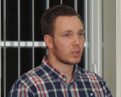 Marc Blanck bittet um Hilfe bei der Bekanntmachung des Standortes der Abfall-Kleinannahmestelle in Oebisfelde.