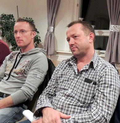 Sascha Broß und Oliver Wolf, zwei Bürger die sich einmischen und Auskunft erhalten möchten bzw. Standpunkte darlegten.