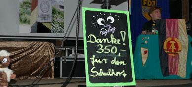 Über den Erlös von 350,00 Euro werden sich die Kinder des Schulhortes Arendsee bestimmt freuen.