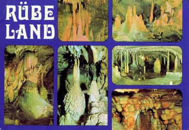 """Eine """"alte Postkarte"""" zeigt die Schönheit der """"Unterwelt""""."""