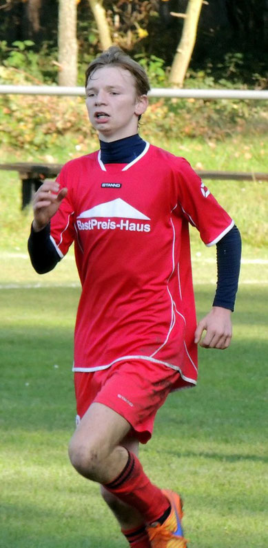 Oliver Dörfel, der Torschütze zum Ehrentreffer der SG Klinze-Ribbensdorf