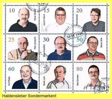 Sondermarken der Briefmarkenfreunde von Haldensleben und Umgebung.  Quelle Foto: http://www.philatelisten-sachsen-anhalt.de/veranstaltung-945.html