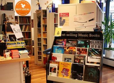 Noten und Musikbücher - in unserem Geschäft und in unseren Onlineshops