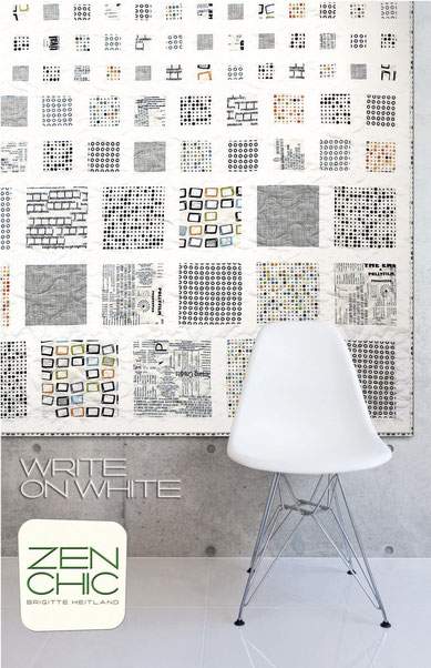Write on White, Zen Chic Quilt