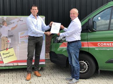 certificering bouwkundige brandveiligheid - Cornelissen aannemingsbedrijf - Montage Expert Brandveiligheid