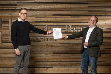 Certificering Van der Horst aannemers - Montage Expert Brandveiligheid